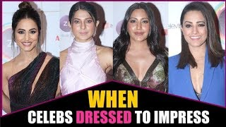 Actresses who rocked the Red Carpet look I Indian Telly Awards 2019 I Exclusive I TellyChakkar - TELLYCHAKKAR
