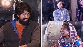 KGF Movie Team Funny Interview With Mangli | Yash | Srinidhi Shetty | TFPC - TFPC