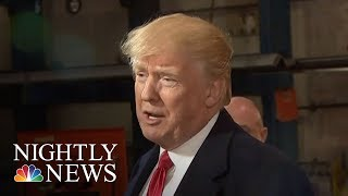 Donald Trump Adds Confusion To Shutdown Battle | NBC Nightly News - NBCNEWS