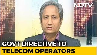 On Abusive Messages To Ravish Kumar, Other Journalists, Notice To Telcos - NDTV