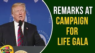 President Trump Delivers Remarks At Campaign for Life Gala | International News Updates | Mango News - MANGONEWS