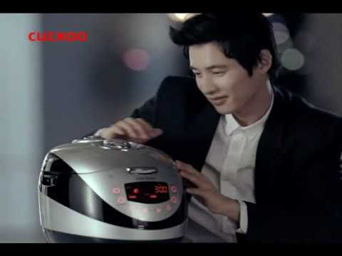 [TVC] Won Bin shed tears in Cuckoo 'Black Pearl' Rice Cooker CF 30s
