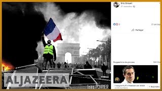 🇫🇷How Facebook spurred the 'yellow vest' protests l Al Jazeera English - ALJAZEERAENGLISH