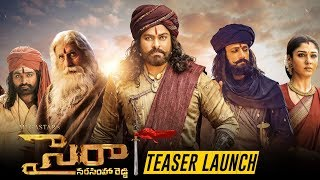 Sye Raa Narasimha Reddy Teaser Launch Event | Sye Raa Teaser Launch - TFPC