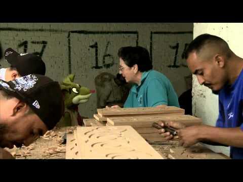Centro Penal de SRC- taller de carpinteria