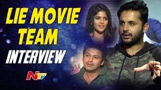 Hero Srikanth Interviews Nithiin, Megha Akash || #LIE Movie || NTV - NTVTELUGUHD
