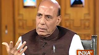 India TV Samvaad: BS Yeddyurappa is confident of forming his government, says Rajnath Singh - INDIATV