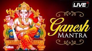 LIVE: Ganesh Utsav 2018 - NON Stop Shri Ganesh Mantra & Aarti - BHAKTISONGS