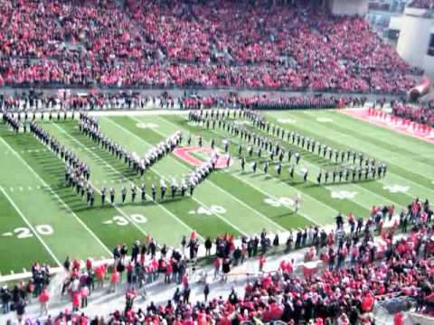 TBDBITL Ohio State vs Michigan 2010 Across The Field & Script Ohio