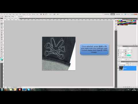 Tutorial #9 - Quickly remove objects-people from images with Content Aware