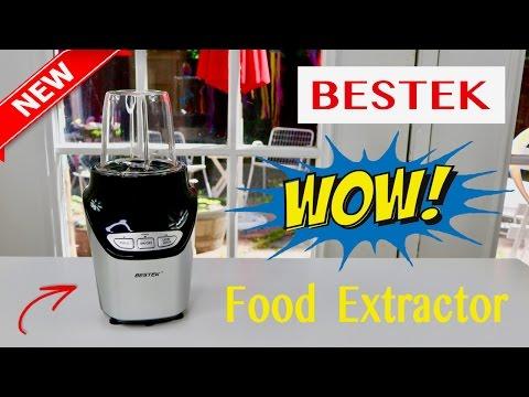 😍 BESTEK 1000 Watts High-Speed Food Extractor - Review ✅