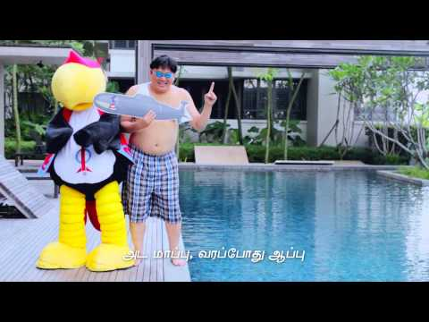 UBAH ROCKET STYLE - (Malaysian Gangnam Parody) Tamil Version