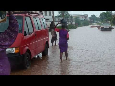 Flood Disaster In Benin City, Nigeria