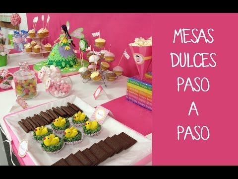 Daughters 6th birthday party mar09 vidoemo emotional - Mesa dulce infantil ...
