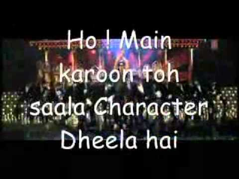 character dheela hai ready movie song with lyrics