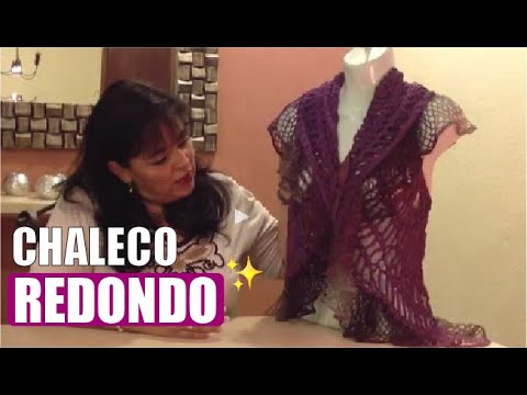 Chaleco redondo - Tejidos