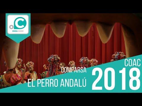 Sesión de Cuartos de final, la agrupación El perro andalú actúa hoy en la modalidad de Comparsas.