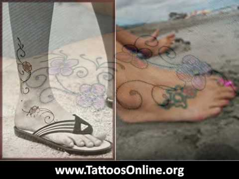 Foot Tattoos - Top 10 foot tattoos 3:20