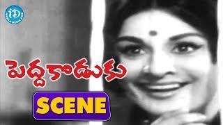 Pedda Koduku Movie Scenes - Nagabhushanam Comedy || Soban Babu || Kanchana - IDREAMMOVIES
