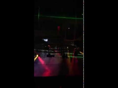 Las Vegas Nu-Salt Laser Light Show @ HOUSE Nightclub