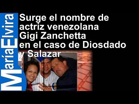 Surge el nombre de actriz venezolana Gigi Zanchetta en el caso de Diosdado y Salazar