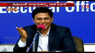 EC CEO Rajat Kumar Press Meet Live | Telangana Elections 2018 | 67 Percentage Polling | CVR News - CVRNEWSOFFICIAL