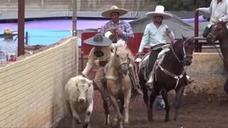 Coleaderos en Charco Blanco (Sombrerete, Zacatecas)