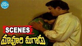 Maavoori Magaadu Telugu Movie Scenes - Sridevi, Satyanarayana, Krishna Emotional Scene - IDREAMMOVIES
