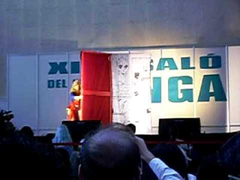 Salon del manga barcelona 2008 act. La Rosa De Versalles