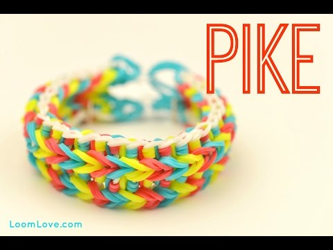 How to Make a Pike Rainbow Loom Bracelet