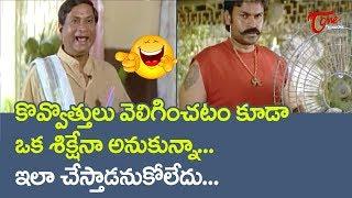 MS Narayana Best Comedy Scenes | Telugu Comedy Videos | NavvulaTV - NAVVULATV