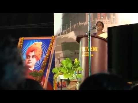 Sasikala teacher new speech in olavanna 2013