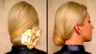 Hairstyles For Long Hair Job Interview : Prom hairstyles for long hair Elegnat work office job interview hairdo ...