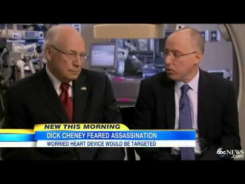 Dick Cheney Worried About Remote Assassination Attempt Via Pacemaker