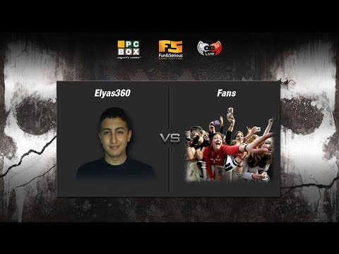 Elyas360 vs Fans - Showmatch CoD Ghosts - Fun & Serious