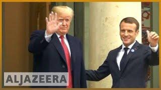 🇫🇷🇺🇸 Macron, Trump in show of unity after row over European security | Al Jazeera English - ALJAZEERAENGLISH