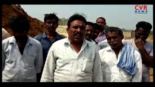 Farmers Demand Loss Compensation Pay for Lands in Ravikampadu | Bhadradri Kothagudem | CVR NEWS - CVRNEWSOFFICIAL