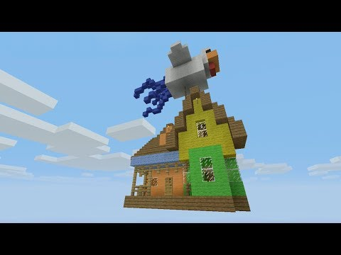 Minecraft Xbox Quest To Find The Floating House 8