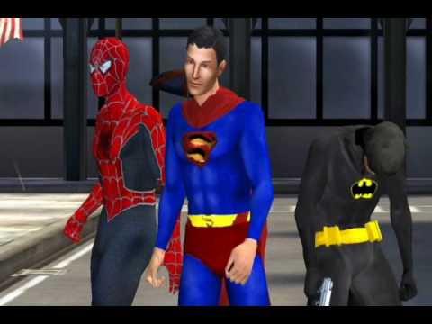 Batman Superman & Spider Man The Movie Trailer