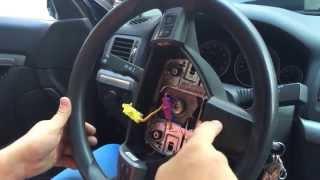 Как снять руль на Opel Vectra C, Astra H, Zafira B