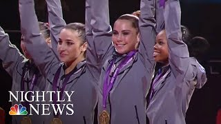 Gymnastics Stars Speak Out Against Larry Nassar | NBC Nightly News - NBCNEWS