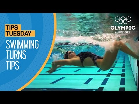 How To Improve Your Swimming Turns   Coaches' Tips