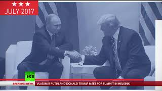 From 'no-handshake' to really awkward ones: Trump has impressive repertoire of greetings - RUSSIATODAY