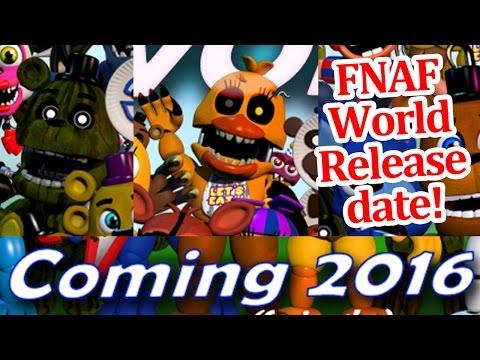 Fnaf world release date adventure nightmare chica and phantom freddy