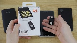 Leef Bridge 3.0 (USB Flash Drive for Android!) Unboxing, First Look, and Review