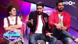 Abhishek Bachchan & Vicky Kaushal Make FUN Of Taapsee Pannu Being A Director's Actor - ZOOMDEKHO
