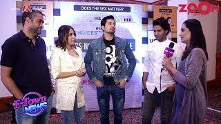 'It's Not That Simple' cast Swara, Sumeet, Purab discuss the gender bias issue | Exclusive - ZOOMDEKHO