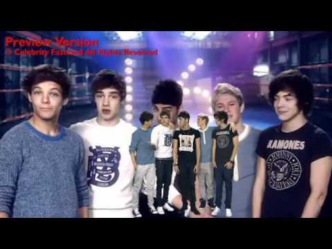 One Direction Celebrity Fast Card - Happy 16th Birthday