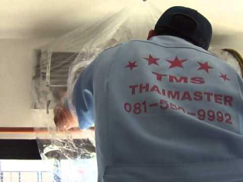 วิธีล้างแอร์ panasonic บริการโดย TMS.Thaimaster Service Equipment Co.,Ltd. 081-550-9992(1).MP4