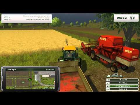 Farming Simulator 2013 Multijugador. Los locos de los tractores.